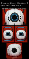 GLaDOS: Cake Core by Pillow-chan