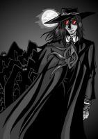 Alucard Goes Batty by ZoeStead