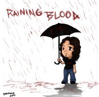 Raining Blood by SavanasArt