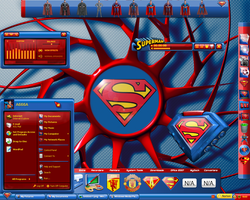 Superman Alienware Desktop by a666a
