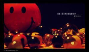 Be Different by cibervoldo