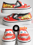 Cars - Lightning Mcqueen by gucksshoes