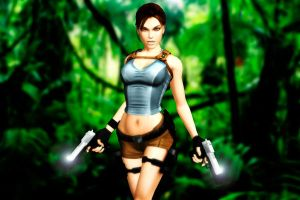 Lara in the Jungle by KSE25
