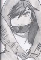 Jack Frost with a Mask by KingofBeastsGrimmjow