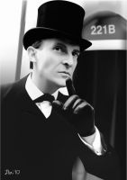 Jeremy Brett by Itailu by itailu