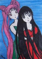 Black Lady and Mistress 9 by MrsMasterOfDisaster