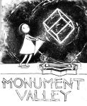 Inktober Day 03 Monument Valley by NMEZero