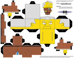 Cubee - Kent Brockman by CyberDrone