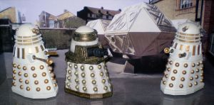 Imperial Daleks by CyberDrone