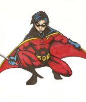 Robin: Tim Drake by Vauz
