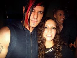 .Me + Klayton at Triton Fest. by Mew-Sumomo