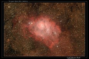 The Lagoon Nebula by octane2