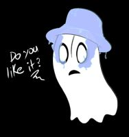 Napstablook by AnimezingArtist