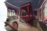 Rinoa's room by skribleskrable