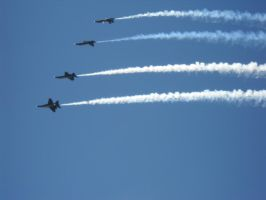 blue angels 4 by xanthnimby
