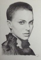 Portrait of Natalie Portman by Monkey-Jack
