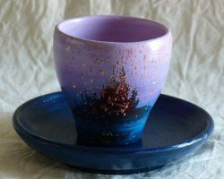 Rapunzel coffee cup by Pasticcinoadry