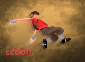 Scout - Team Fortress 2 by OzMa0