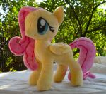 Fluttershy Plush by dolphinwing