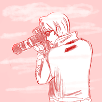 taking a pic by ches-kyu