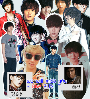 Super Junior Yesung (collage) by eunhoon