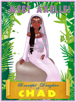 Daughter of Chad by mnkene