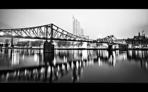 Frankfurt Bridge by ffmdotcom