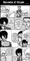 Halloween at Hellsing 2: Part 2 by MoonBeamDust