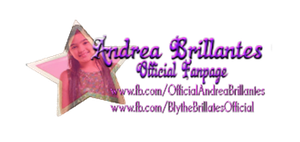 Andrea Brillantes Official Logo by pempengcoswift13