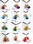Homestuck - troll blood necklaces by FrozenNote