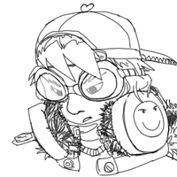 Goggles and Headphones by F4Zero