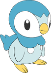 Piplup Base by YukiMemories