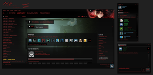 RWBY- Ruby Rose Steam Skin | Updated 10/23/15 by Pshermang