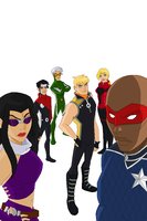 Young Avengers by juanito316ss