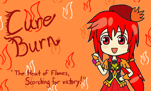 *Request* Happiness Charge Precure - Cure Burn by gaming123456