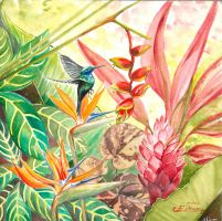 Flowers of Martinique by syalice