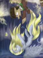 .:Falling:. [MLP:FiM] by TimeyWimeyWhooves