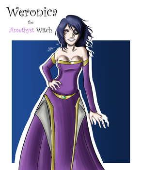 Weronica - The Amethyst Witch by LucasElder