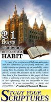 21 Days Challenges to Make it a habit poster by michaeltuan97