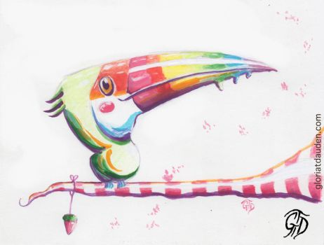 Sweet Toucan by Gloria-T-Dauden