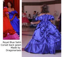 Portrait Gown reproduction by dragonariaes