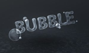 Text Effect Quickies Bubble Text by freebiespsd