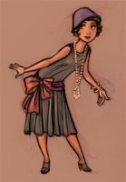 Flapper by heatherbunny
