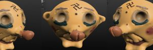 I made a 3d sculpt by Andywilson92