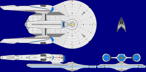 USS Odysseus AU Multi-View by Roguewing