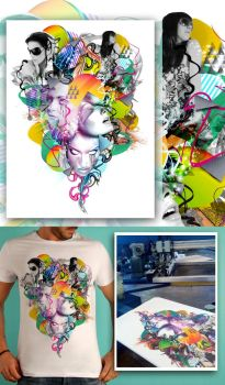Color Blind T-Shirts by munkymuck