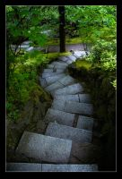 Crooked Stairway by Alptraum125