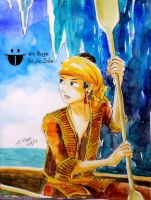 Tabinshwehti on the boat in a tunnel by sw-eden