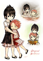 Dragneel Brothers by LeonS-7