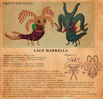 Floraverse Species - Lace Marrella by PixelMecha